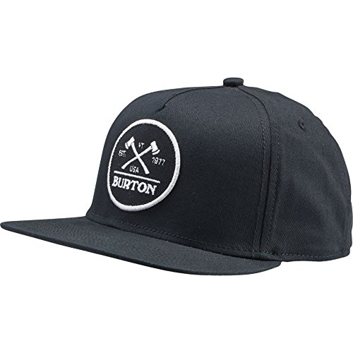 BURTON Men's Woodsman Snapback Cap, One  - Burton Black Hat Shopping Results