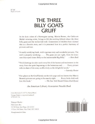 graphic relating to Three Billy Goats Gruff Story Printable titled The A few Billy Goats Gruff: P.C. Asbjornsen, J. E. Moe