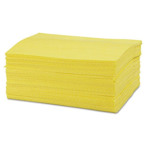 CHICOPEE 0213 Masslinn Heavy Duty Dust Cloth for All Surfaces, Furniture, Printers, Electronics, No Spray Needed Yellow 14.4-inches x 24-inches (Case of 400, 8 bags of 50) by Chix
