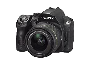 Pentax K-30 lens kit black w DA 18-55WR Weather-Sealed 16 MP CMOS Digital SLR with DA 18-55mm and 3-Inch LCD Screen
