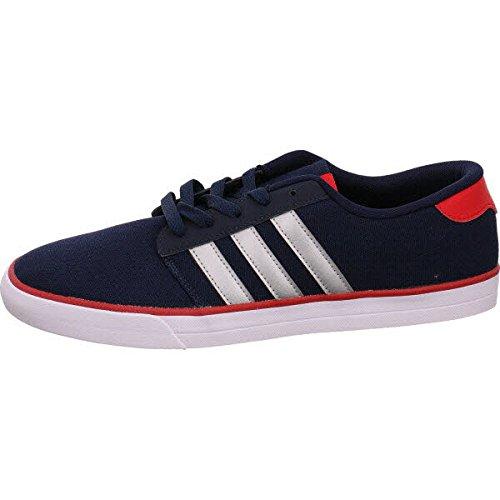 adidas Vs Skate, Scarpe da Skateboard Uomo, Blu (Maruni/Plamat/Escarl), 45 EU
