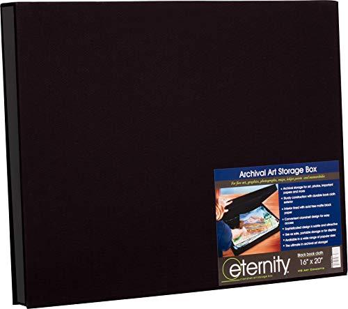 Presentation Box Clamshell - Eternity Archival Clamshell Art Storage Box 16x20