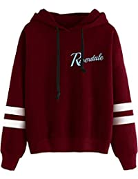 Silver Basic Girl's Novelty Riverdale Hoodie Southside Serpents Sweatshirts Outerwear