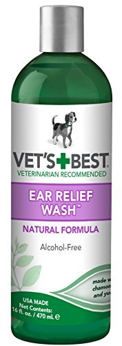 Wash Ear Relief - Vet's Best Dog Ear Relief Wash, 16 oz by Vet's Best