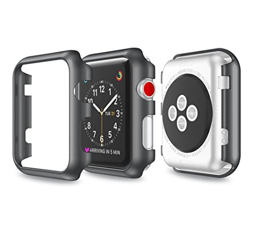 hp95tm-new-ultra-slim-electroplate-pc-hard-case-cover-for-apple-watch-series-3-42mm-black