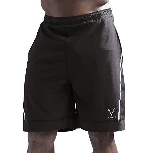 Vaiden Aster - Men's Athletic Shorts with Reflective Details (XXL)