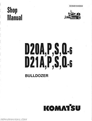 Js Kom S D20ap Plus Komatsu D20 D21 D31 D37 Chassis Only Service Manual