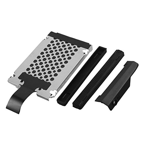 SODIAL(R) Hard Disk Driver Cover Caddy Rails Screws for IBM Lenovo ThinkPad T410