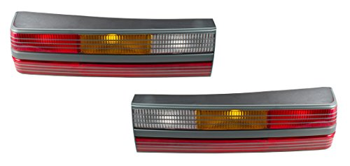 Lens Gray Body - 1993 Mustang SVT Cobra Gray Taillight Body & Lens Kit - Pair