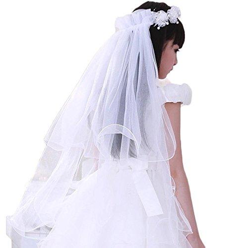 Dresses Flower Layers Wedding Communion