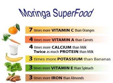 photo Wallpaper of -Moringa Leaf Powder   Green Superfood Natural Powder (4 Oz   1/4-