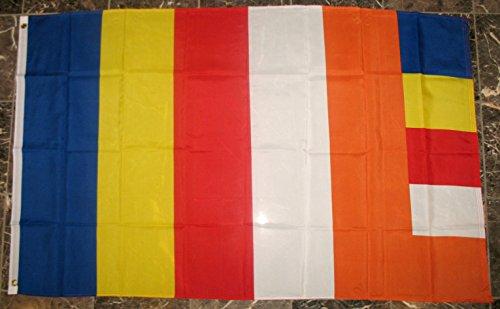 buddha buddhist flag religion banner