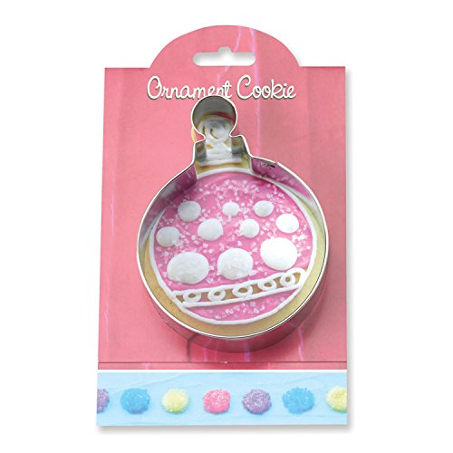 Ornament Cookie and Fondant Cutter - Ann Clark - 4.5 Inches - US Tin Plated Steel