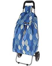 Shop Go 12kg Sprint Shopping Trolley Grocery Food Bag/Cart Storage 2 Wheels Leav