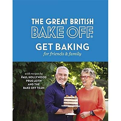 GBBO Baking for Family and Friends Book lakeland