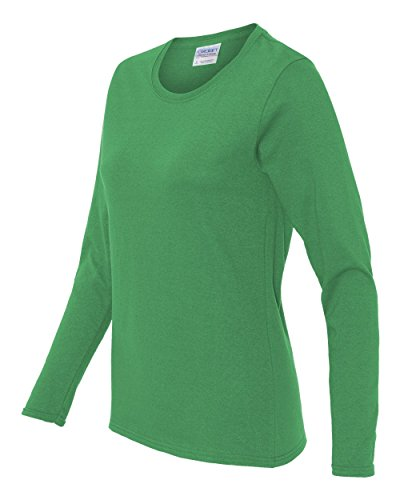 aee7a28630ba Gildan womens Heavy Cotton 5.3 oz. Missy Fit Long-Sleeve - Import It All