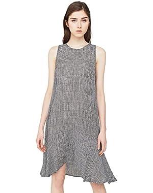 Mango Women's Asymmetric Hem Dress