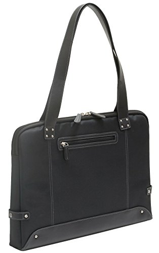 "Allant ""Opal"" Women's 16 Inch Slim Laptop Business Tote Blac"