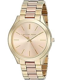 Women's Slim Runway Gold-Tone Watch MK3493