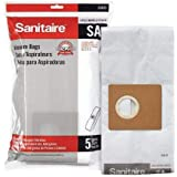 SANITAIRE VACUUM BAGS DISPOSABLE FOR SC3700 5 PER PACK