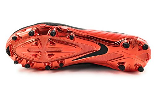Nike Herren Alpha Pro 2 Fußballschuh Schwarz / Orange Blitz