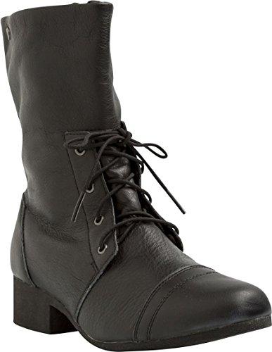 Damen Schuh Volcom In the Mode Boot Schuhe Frauen Black