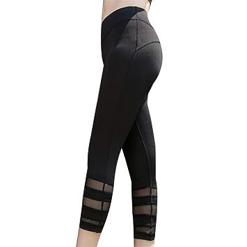 LQFLD Yoga Pantalón Mujer,Pantalones De Yoga para Mujer con ...