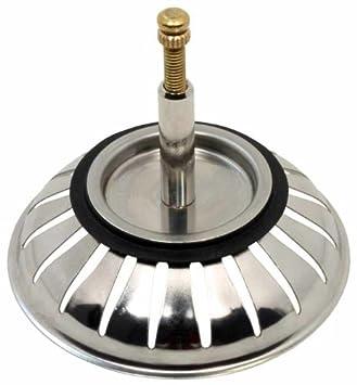 Siebkörbchen mit Zapfen für Exzenter Bedienung Edelstahl 8,2 cm 3,5 Zoll