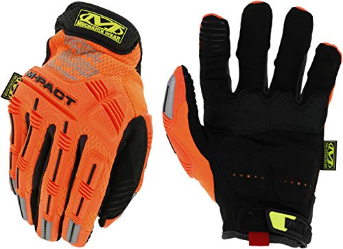 Mechanix Wear - Hi-Viz M-Pact (Large, Fluorescent Orange)