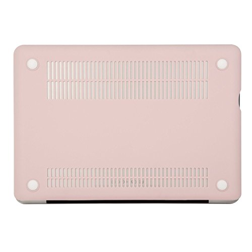 MOSISO Plastic Hard Shell Case Cover Only Compatible Old MacBook Pro 13 inch (A1278 CD-ROM), Release Early 2012/2011/2010/2009/2008, Rose Quartz by MOSISO (Image #7)