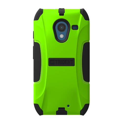 Trident Case Aegis Series for Motorola X - Retail Packaging - Green
