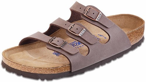 a71d41b27f6 Galleon - Birkenstock Women s Florida Soft Footbed Mocha Birkibuc Sandal  (39 M EU  8-8.5 M US)