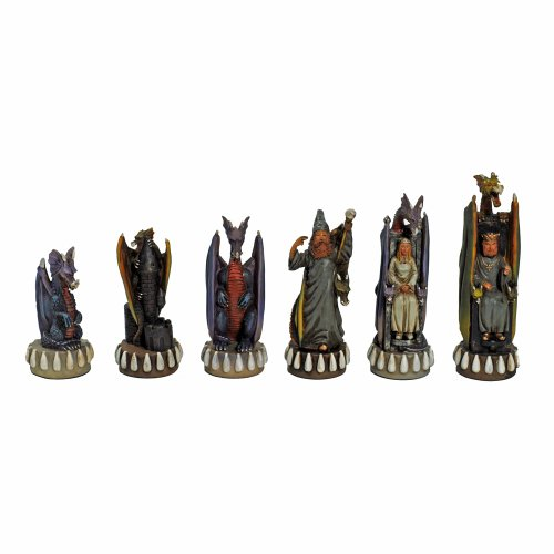 Dragon Chessmen by Wood Expressions
