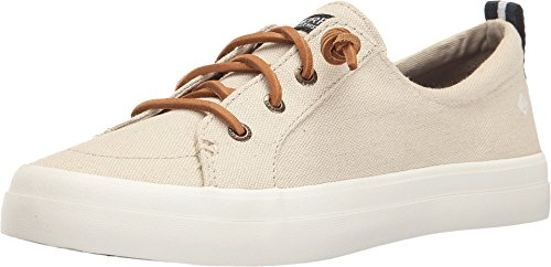 Pictures of Sperry Top-Sider Women's CREST VIBE LINEN Shoe, oat, 9 M US 1
