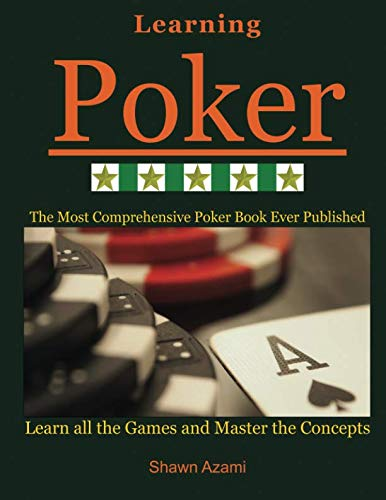 Learning Poker: (Black and White Edition)