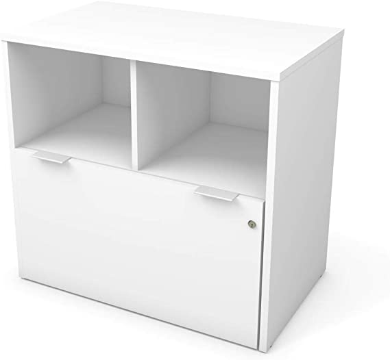 Bestar Lateral File Cabinet with 1 Drawer - i3 Plus