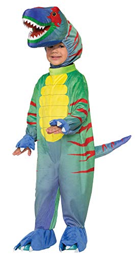 Forum Novelties Kids Sly Raptor Costume, Multicolor, Small -