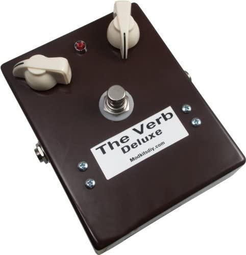 "MOD KITS DIY - ""The Verb Deluxe"" Digital Reverb Pedal."