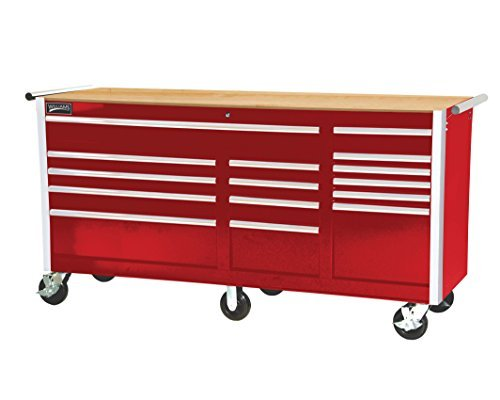 Williams 50102 Wood Work Surface for Super Value Roll Cabinets, (Mobile Workbench)