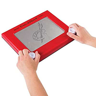 Etch A Sketch, Classic Red Drawing Toy with Magic Screen, for Ages 3 and Up, 1.63, Model:20083951-6041762: Toys & Games
