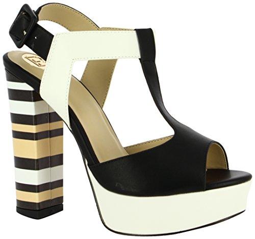 Tara Zapatos De Biagiotti Punta nero Mujer Para Laura Negro Con 01 Tacón Abierta 5fqZEnEwxO
