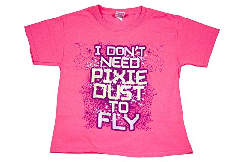 I Don't Need Pixie Dust To Fly - All Star Outfitters Cheerleading Apparel - Youth Large