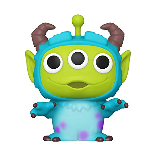 Funko- Pop Disney Pixar-Alien as Sulley Anniversary Figura Coleccionable, Multicolor (48362)