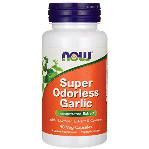 NOW Foods Super Odorless Garlic -- 90 Capsules ()