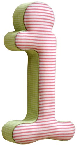 New Arrivals The Letter I, Pink and (Pink Stripe Fabric Memo Board)