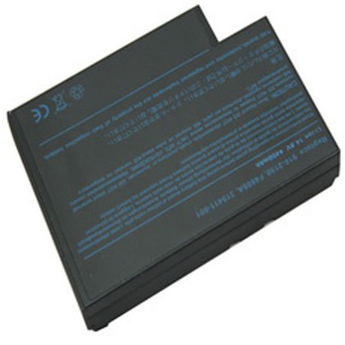 Compaq Presario 2170CA-DK579AR Laptop Battery (Lithium-Ion, 8 Cell, 4400 mAh, 65wh, 14.8 Volt) - Replacement for HP F4809A Series Laptop Battery -