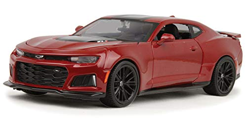(2017 Chevrolet Camaro ZL1 Burgundy 1/24 Diecast Model Car by Maisto 31512)