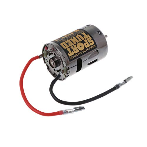 Aiyouxi 53068 OP68 RS540 Sport Tuned Motor 23T Brushed 540 Hop Up Options High Speed for 1/10 Scale Hobby Car Models Replacement ()