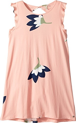 Roxy Big Girls' Lovely Place Sleeveless Dress, Peaches and Cream All in Mini, (Roxy Cream)