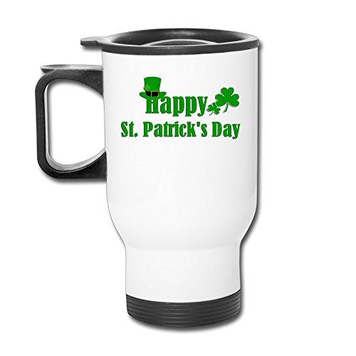 MARIA RODRIGUEZ Happy St.Patrick's Day Popular Durable Custom Travel Blank Mug Car Mugs Cups Mug Coffee - Stores Foxwoods